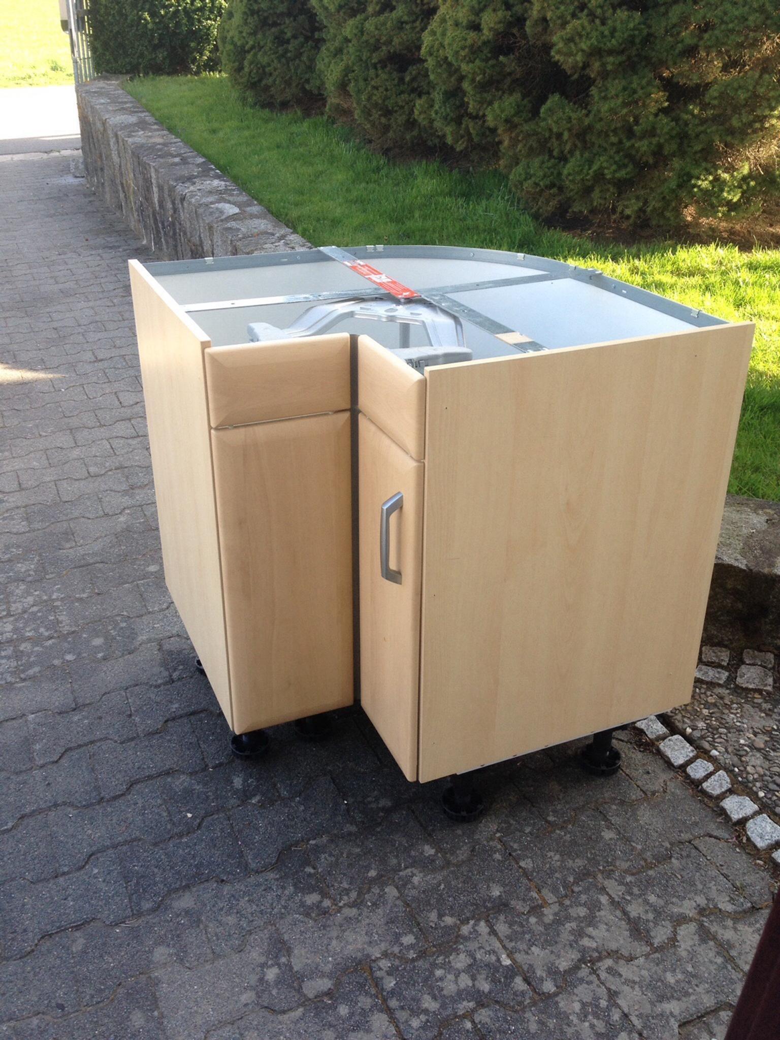 Gebraucht Kücheneckschrank mit Rondell in 64385 Reichelsheim ... | {Kücheneckschrank 80x80 48}
