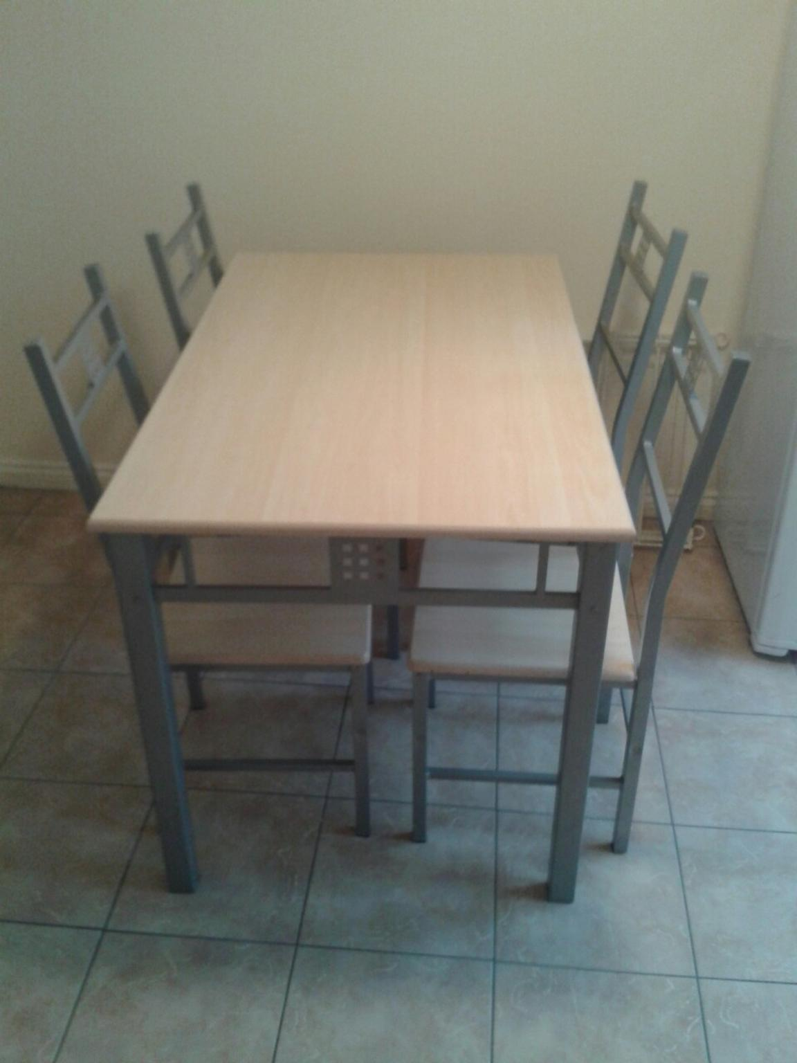 Used dining table and chairs x4 in LE4 Leicester for 163 40  : aspectwidth1200ampaspectheight630 from en.shpock.com size 1200 x 720 jpeg 54kB
