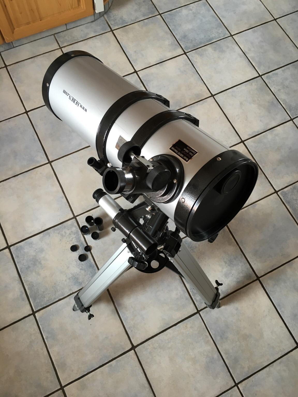 Seben zoom reflektor teleskop star sheriff big amazon