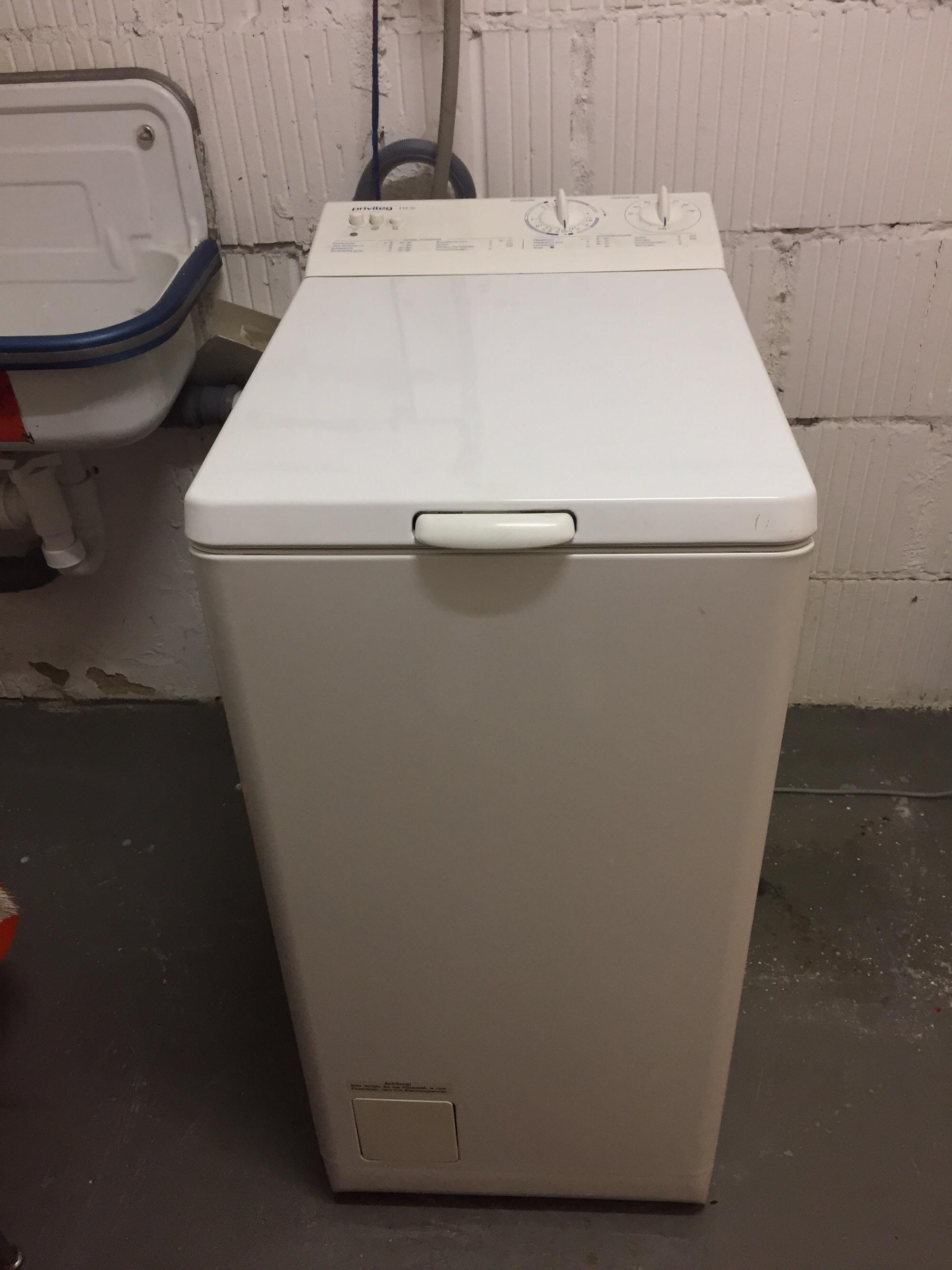 Gebraucht toplader waschmaschine von privileg sc in