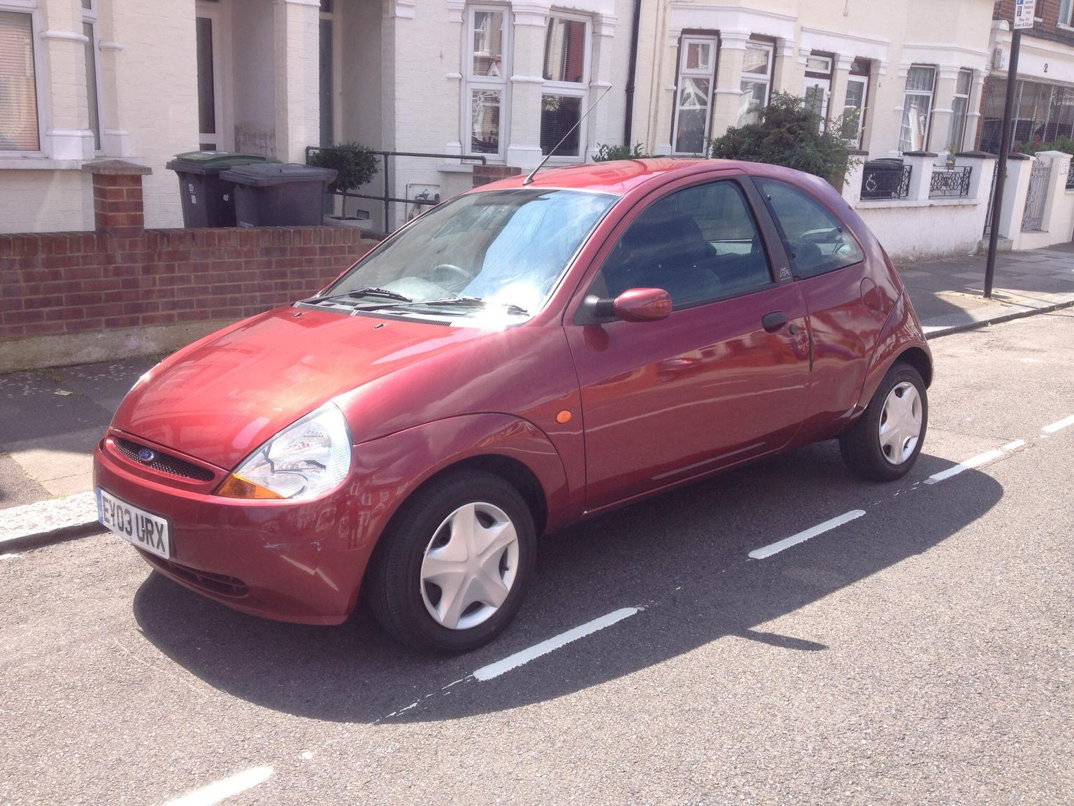 Used Ford Ka  Tax And Mot Quick Sale In E London For   Shpock