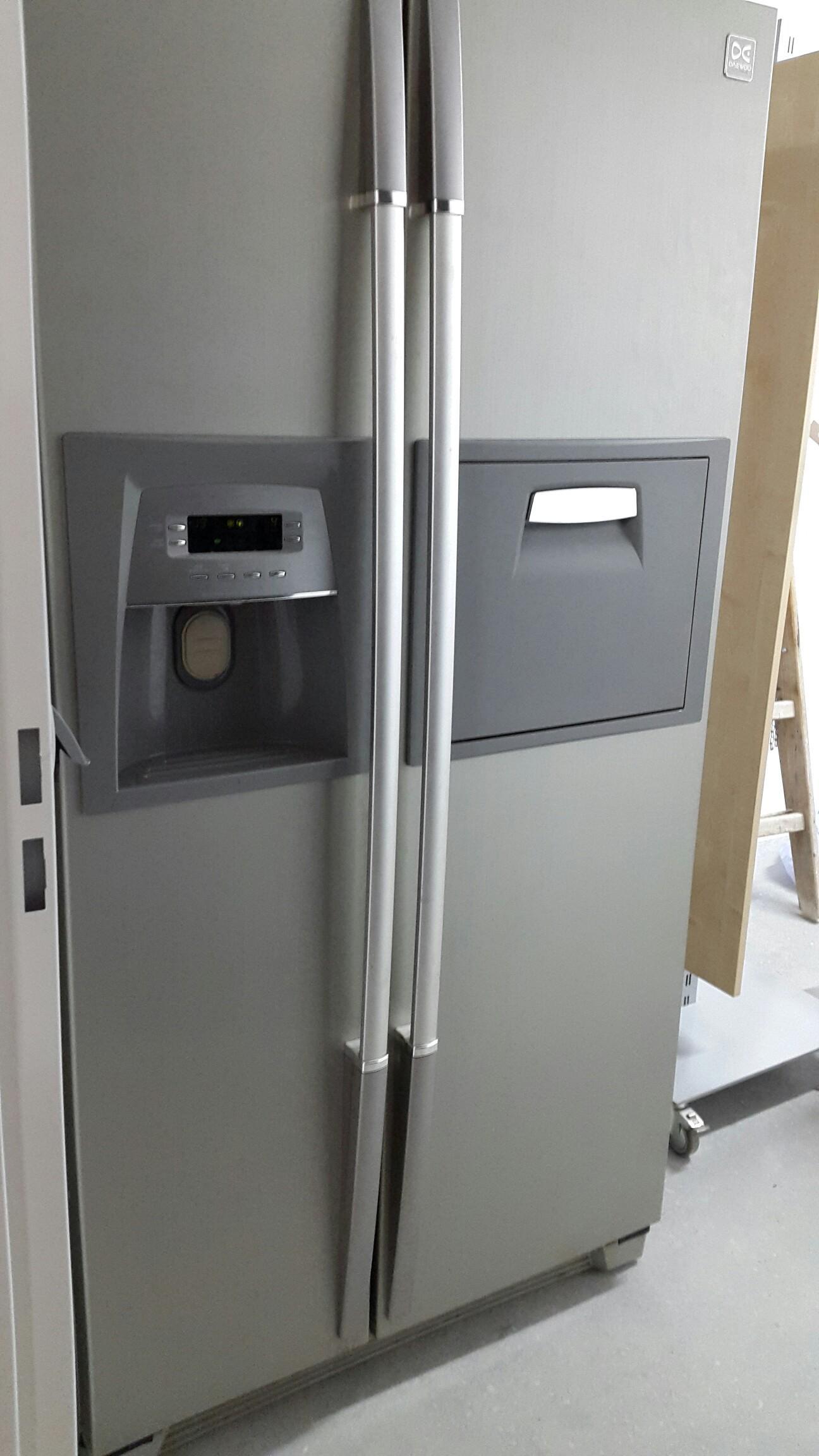 Daewoo Kühlschrank Side By Side : Gebraucht daewoo side by side kühlschrank in imst um u ac