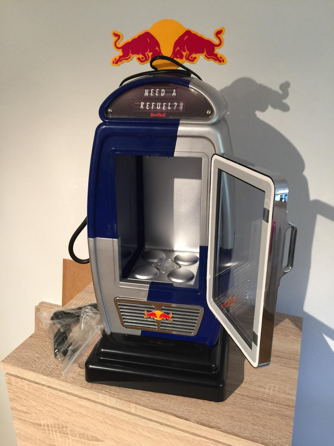 Red Bull Kühlschrank Zapfsäule : Gebraucht redbull kühlschrank im tankstellen stil in