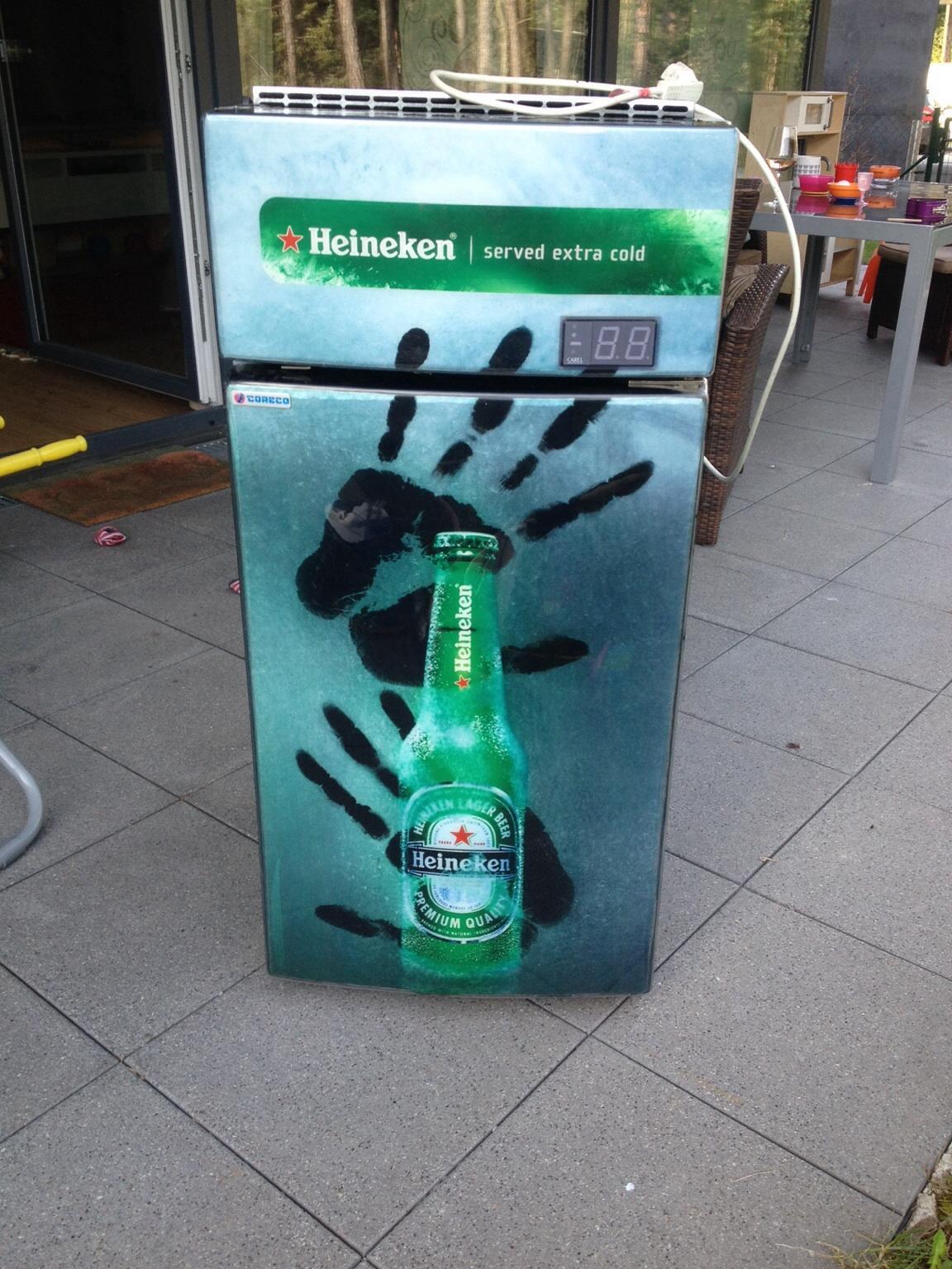 Mini Kühlschrank Heineken : Gebraucht heineken kühlschrank in klagenfurt am wörthersee um