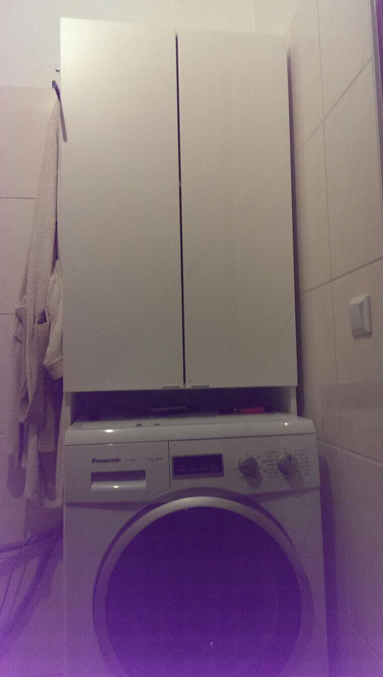 Gebraucht waschmaschinenschrank schrank bad badezimmer in