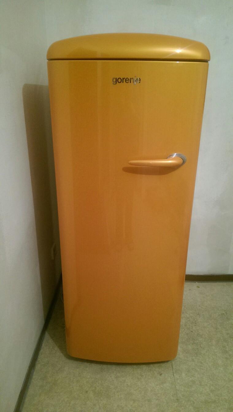 Gorenje Kühlschrank Orange : Gebraucht gorenje kühlschrank retro juicy orange in