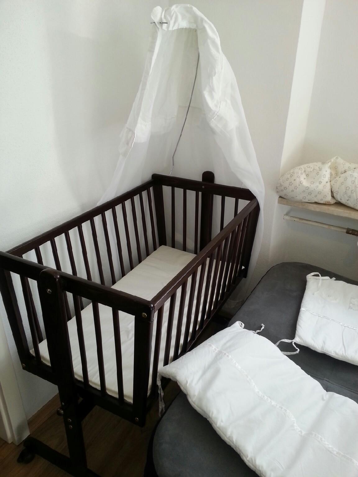 Stubenwagen Garnitur Setting : Gebraucht babywiege kolonial stubenwagen babybett in