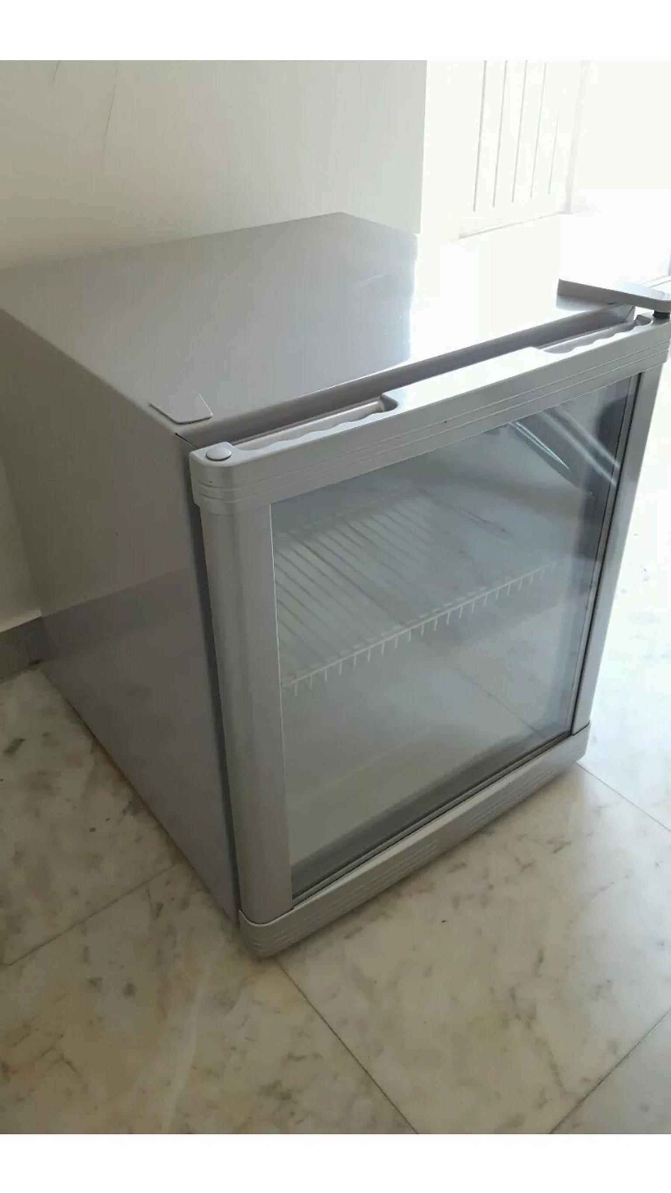 Exquisit Mini Kühlschrank : Gebraucht exquisit mini kühlschrank cooler silber glas in