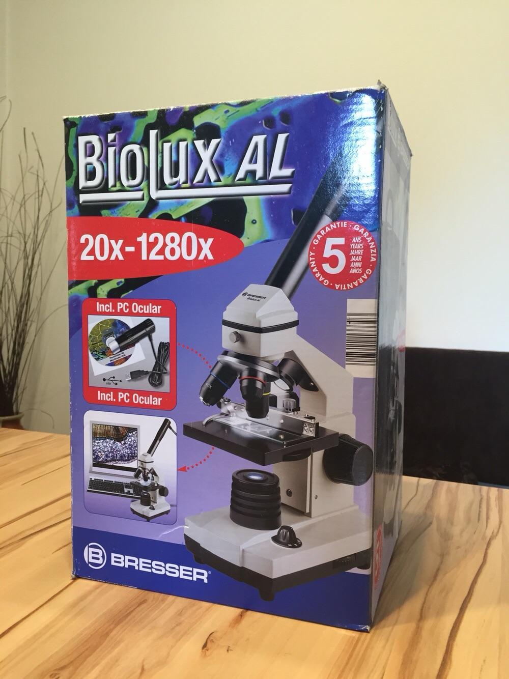 Gebraucht bresser mikroskop biolux al in hohenems