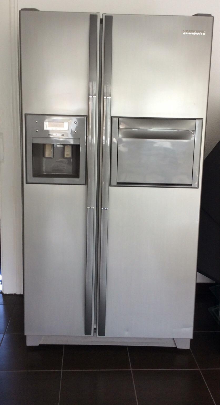 Samsung Amerikanischer Kühlschrank Kühlt Nicht Mehr : Gebraucht samsung side by side sr s css kühlschrank in