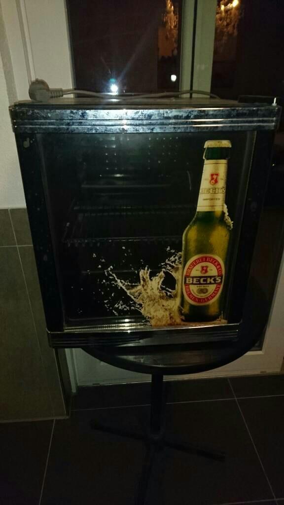 Kleiner Kühlschrank Becks : Gebraucht becks mini kühlschrank in frankfurt am main um