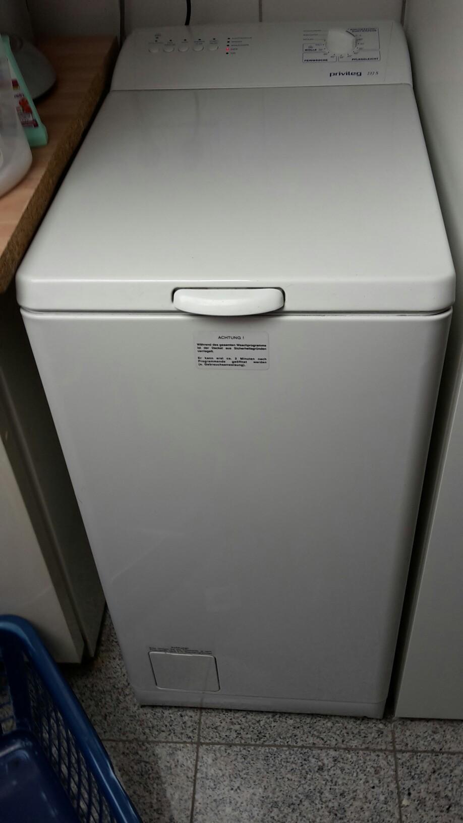 Gebraucht privileg s waschmaschine toplader in linz am