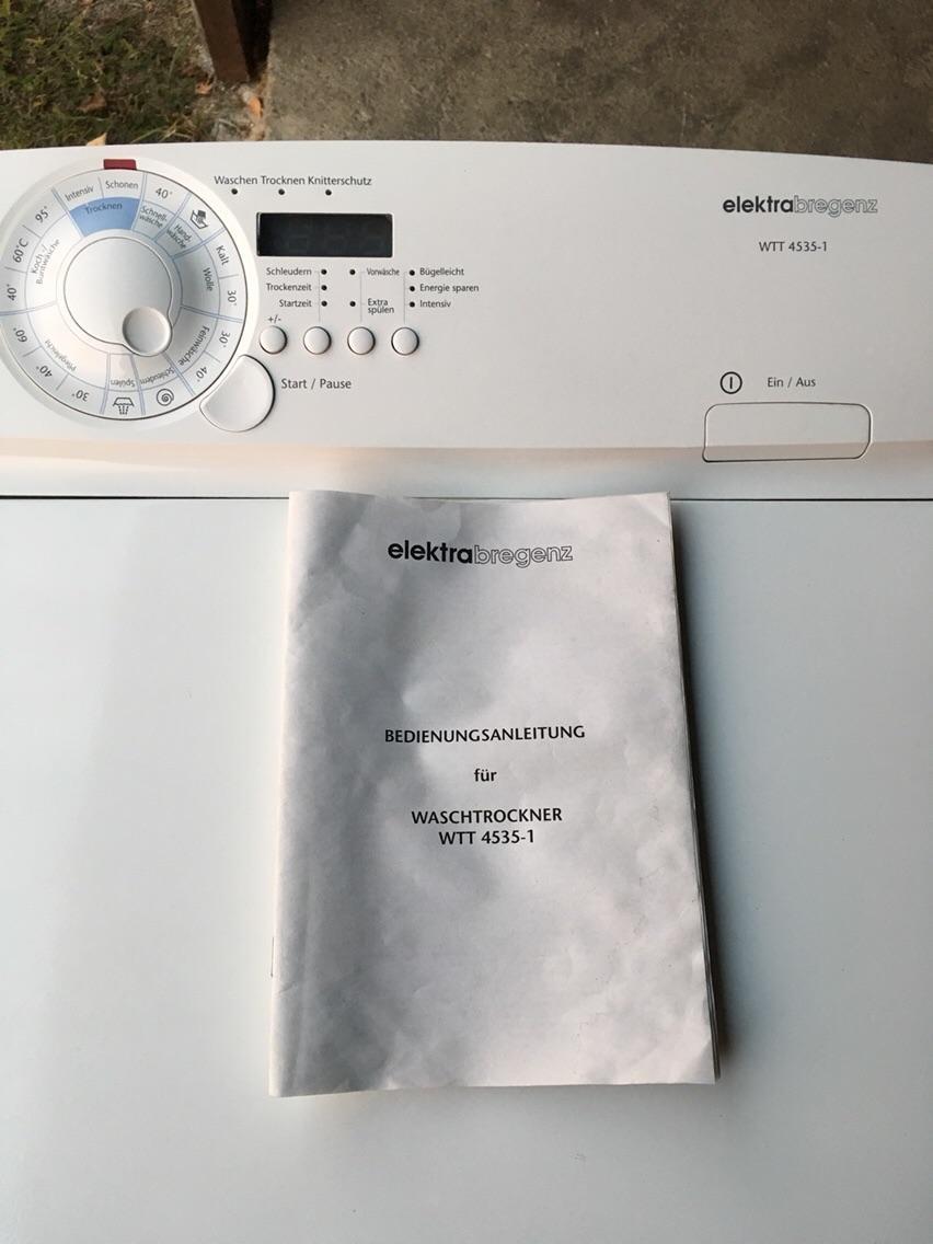 Gebraucht waschtrockner elektra bregenz in werda um u ac