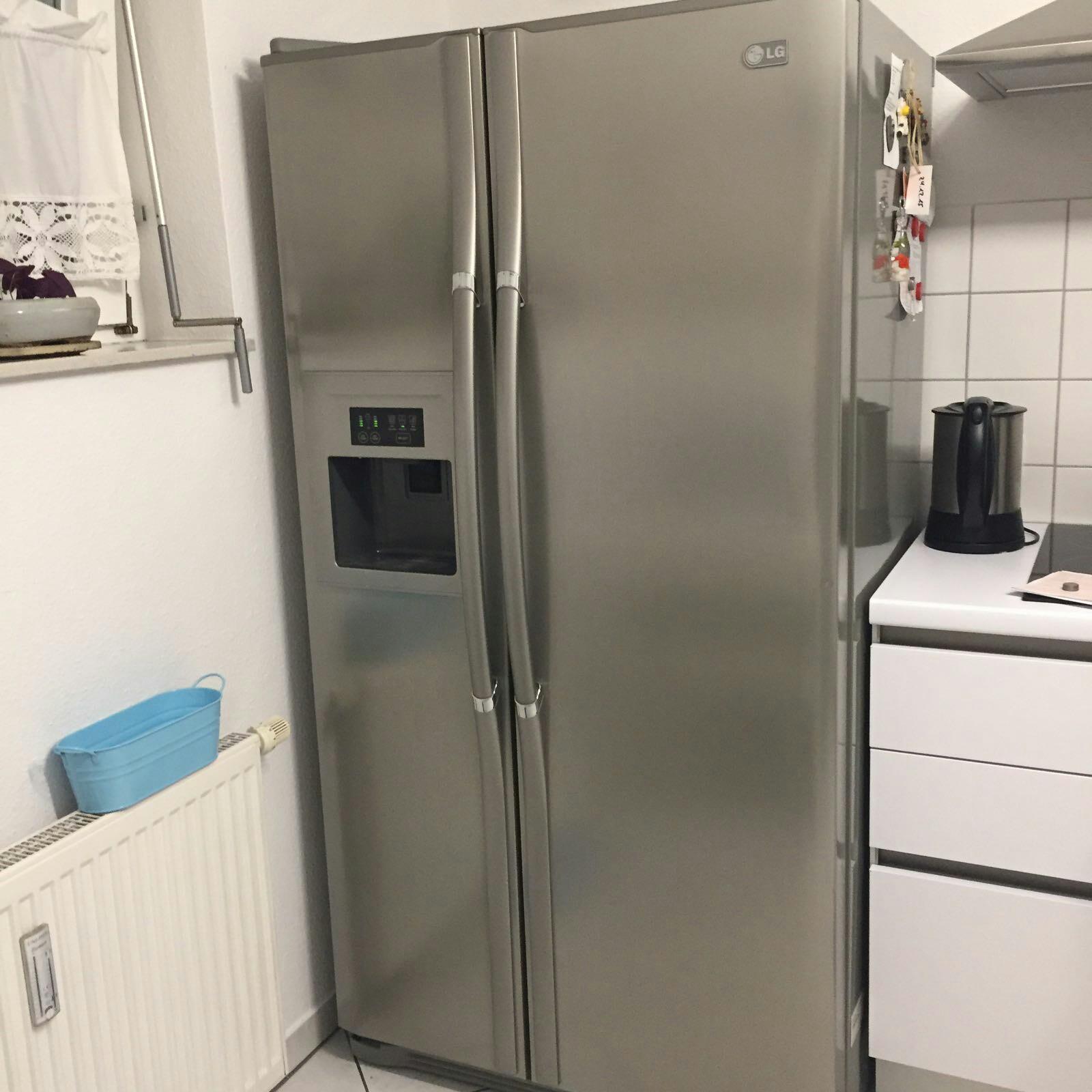 Amerikanischer Kühlschrank Von Lg : Gebraucht lg gr l tq amerikanischer kühlschrank in