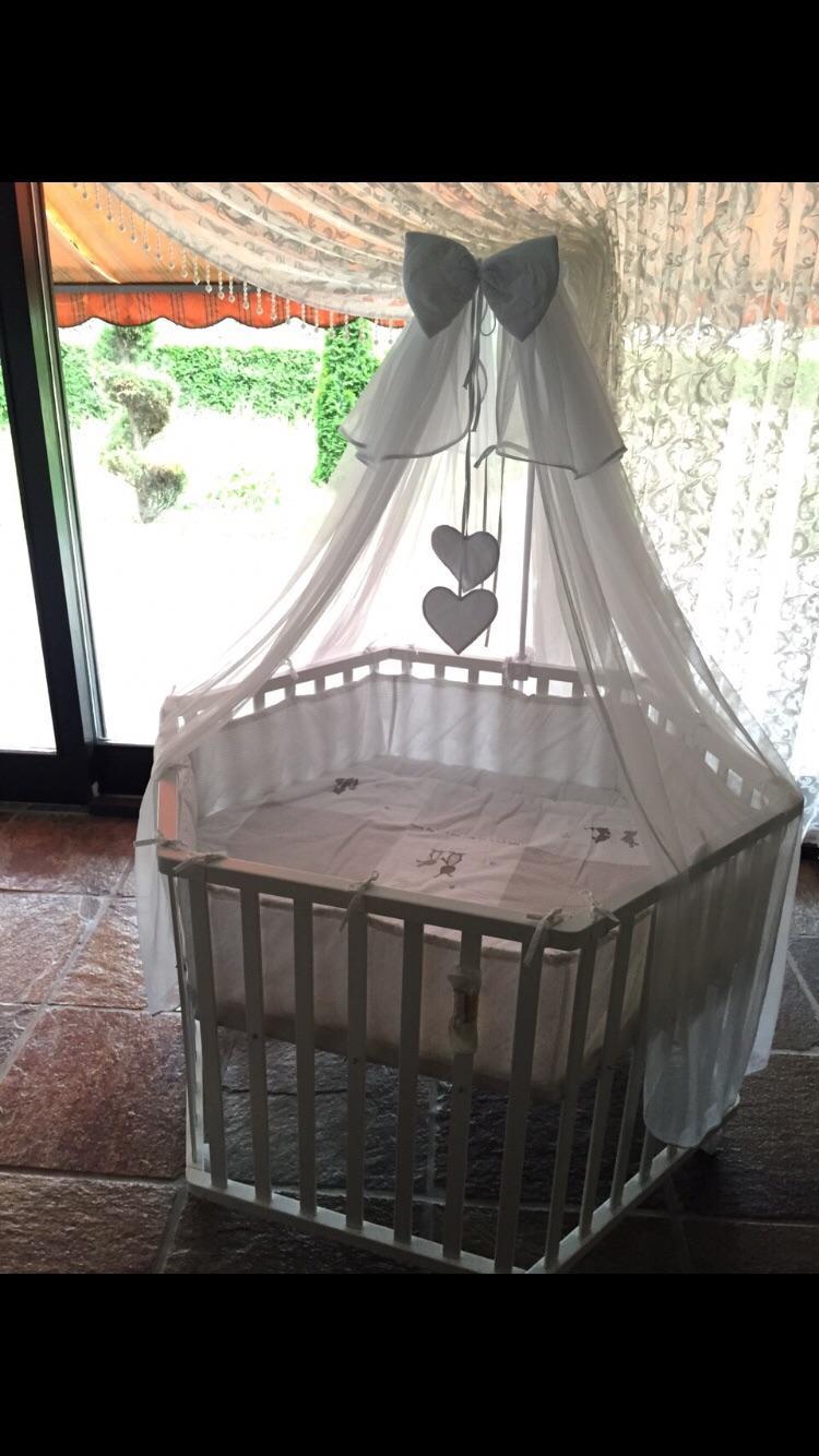 Gebraucht laufstall laufgitter babybett stubenwagen in