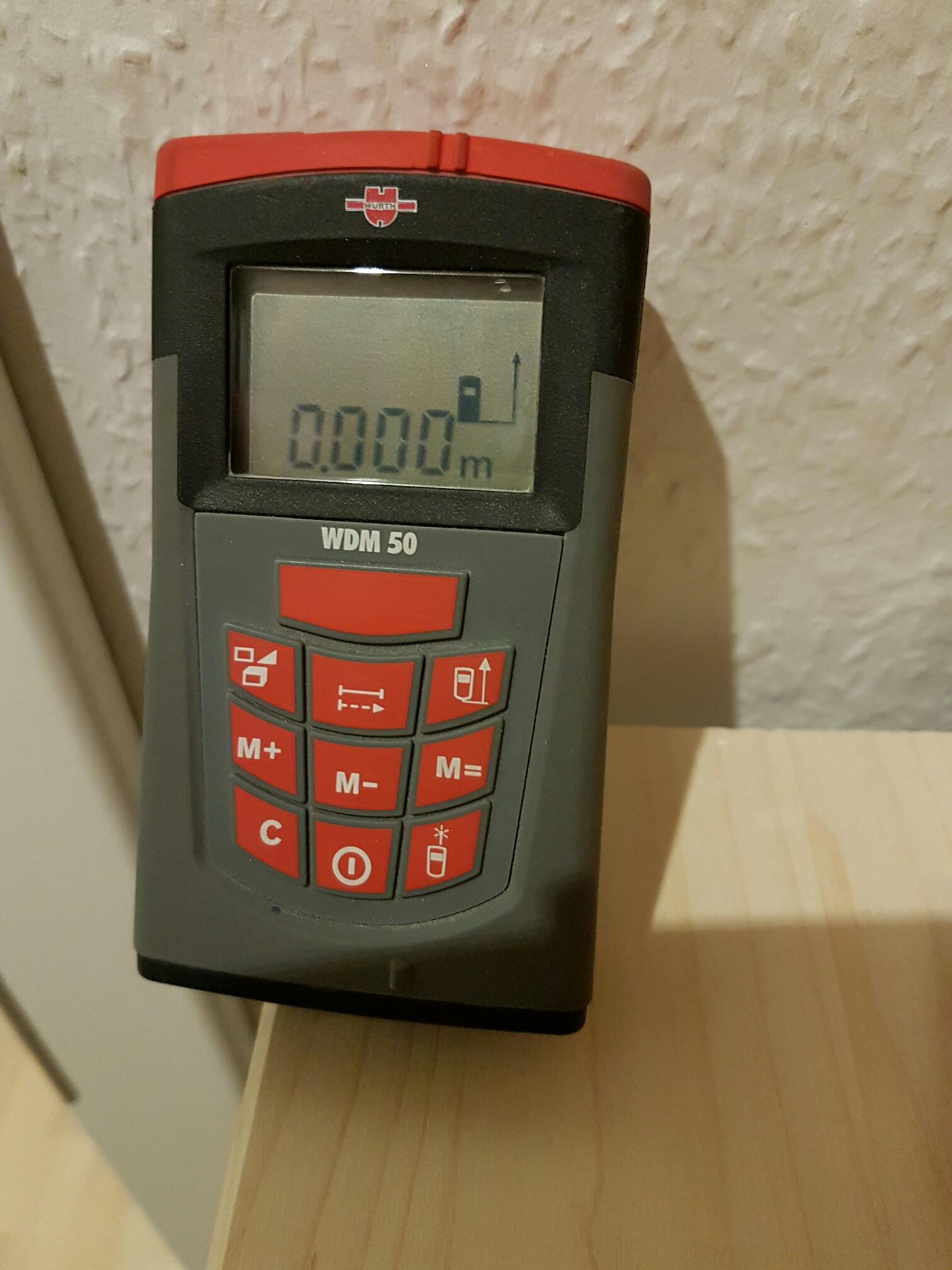 Laser Entfernungsmesser Würth : Gebraucht wÜrth laser wdm entfernungsmesser in potsdam um