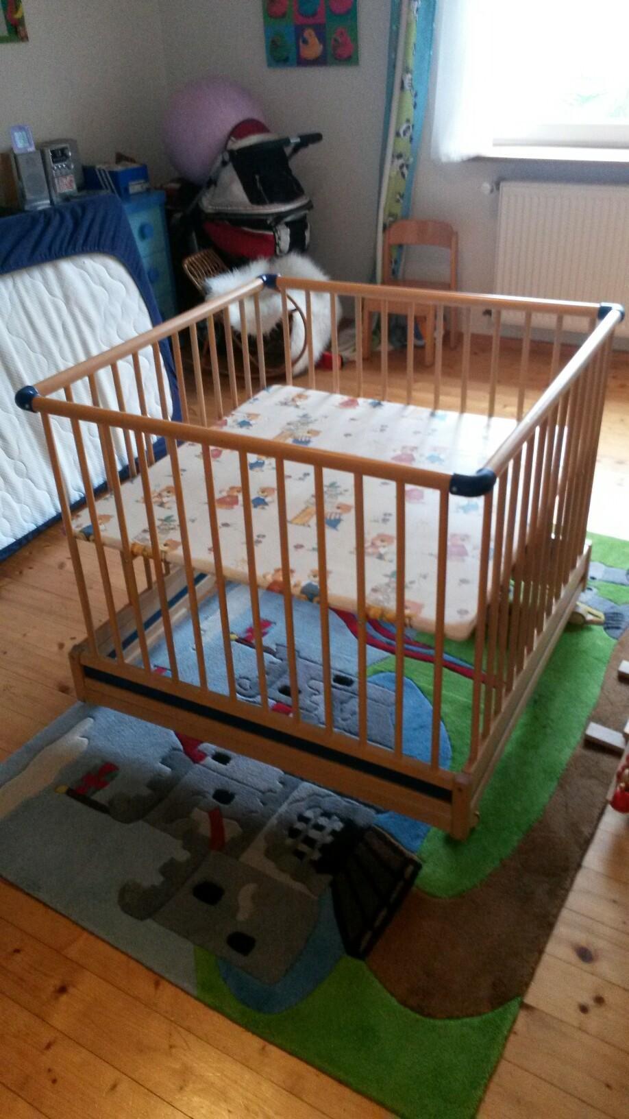 Gebraucht laufstall baby stubenwagen in wolpertswende um