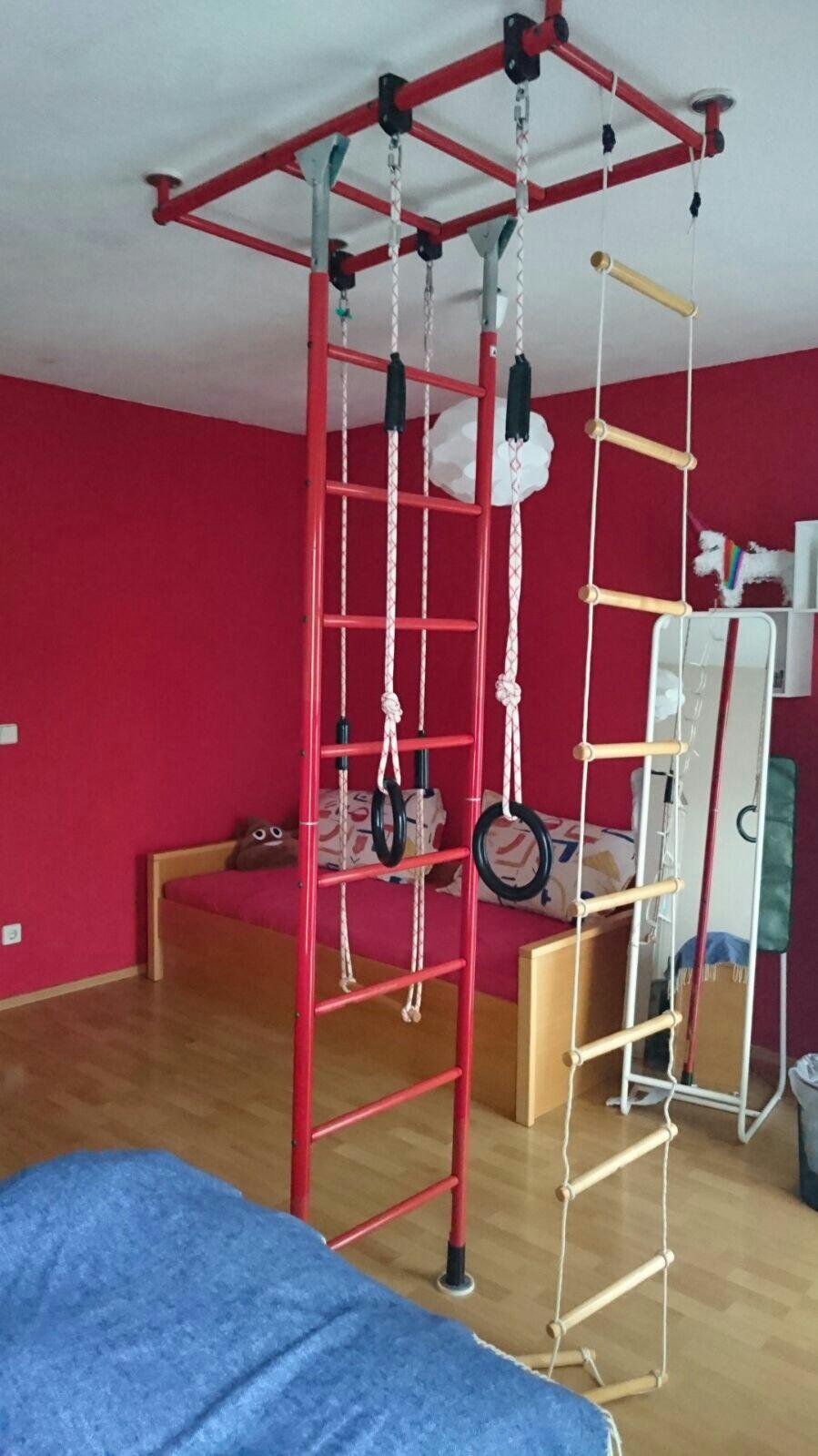 Jako Klettergerüst : Klettergerüst jako o indoor kletterdschungel ebay kleinanzeigen
