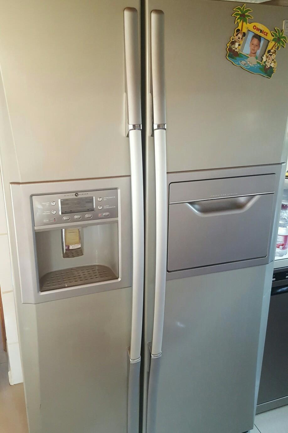 Amerikanischer Kühlschrank Maße : Gebraucht amerikanischer kühlschrank mit eismaker in berlin