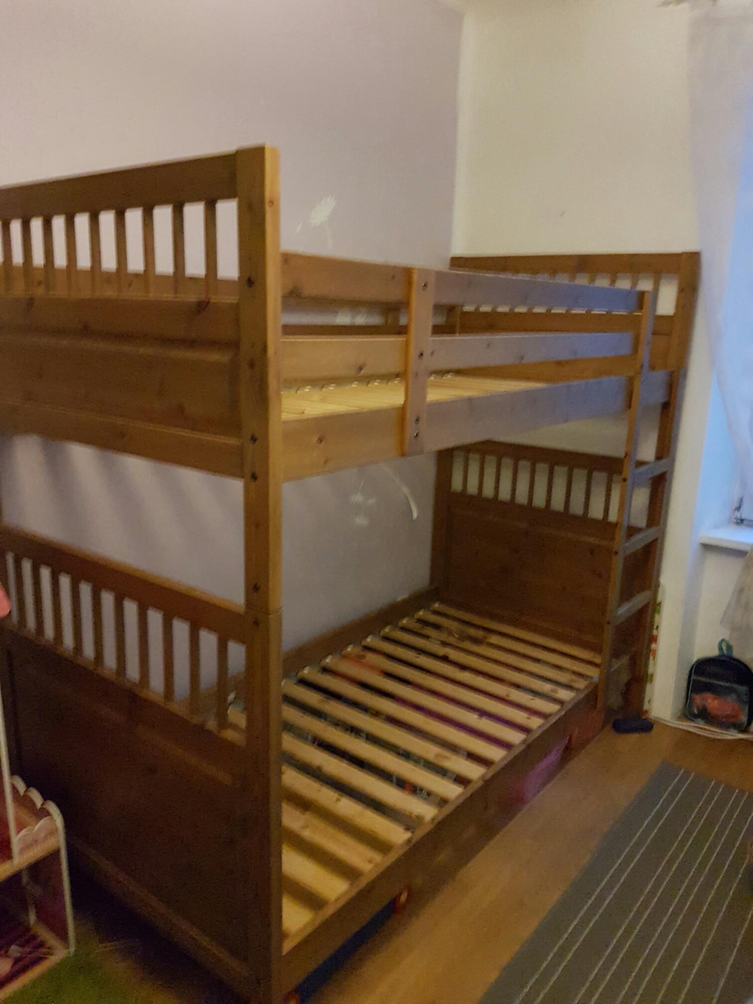 Etagenbett Ikea Hemnes : Gebraucht stockbett etagenbett hemnes von ikea in salzburg