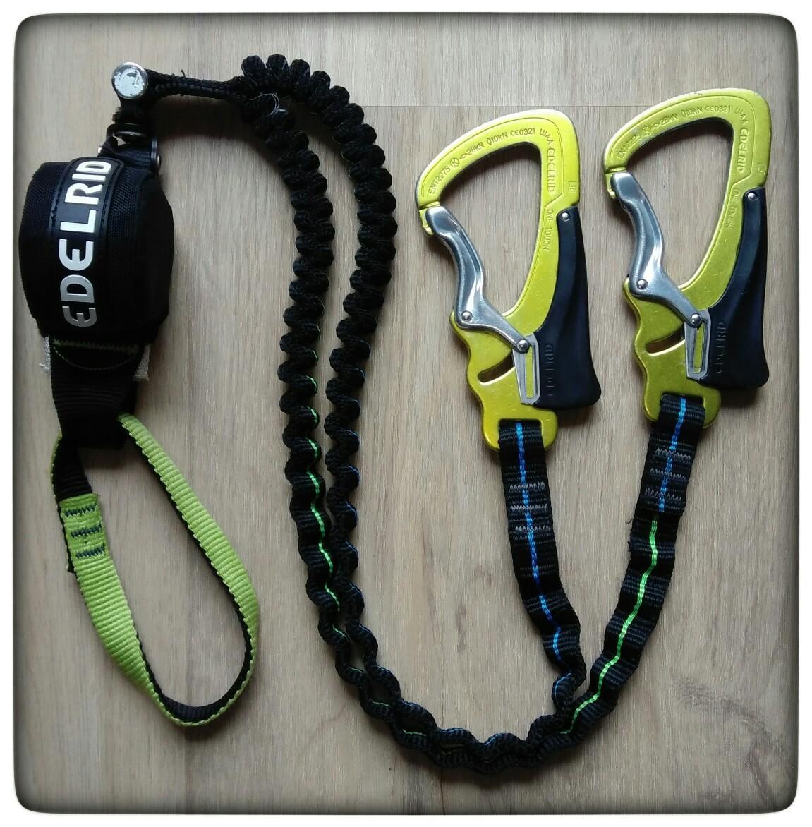 Klettersteig Set Gebraucht : Edelrid cable comfort klettersteigset top eur