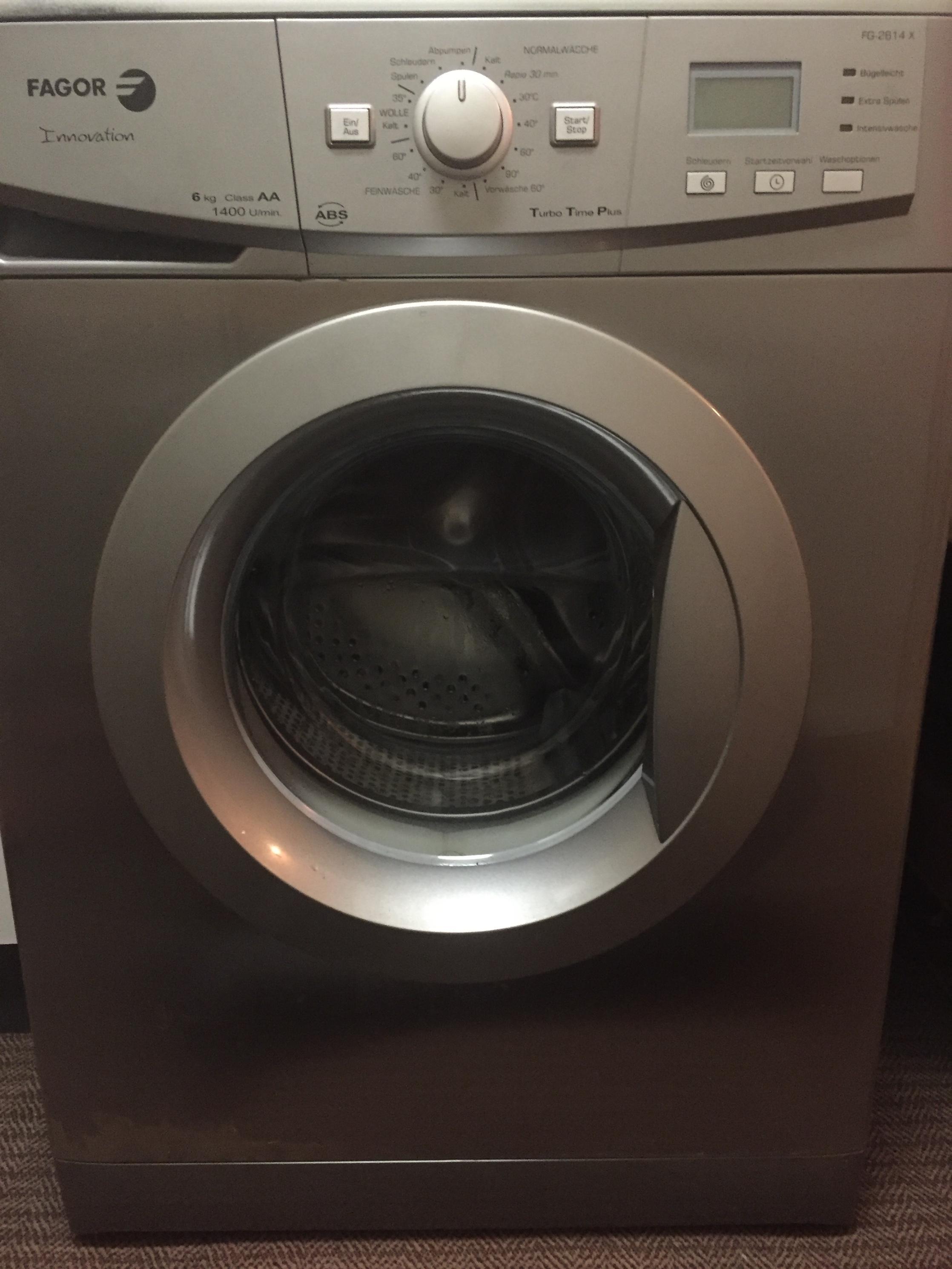 Gebraucht fagor waschmaschine fg teiledefekt in