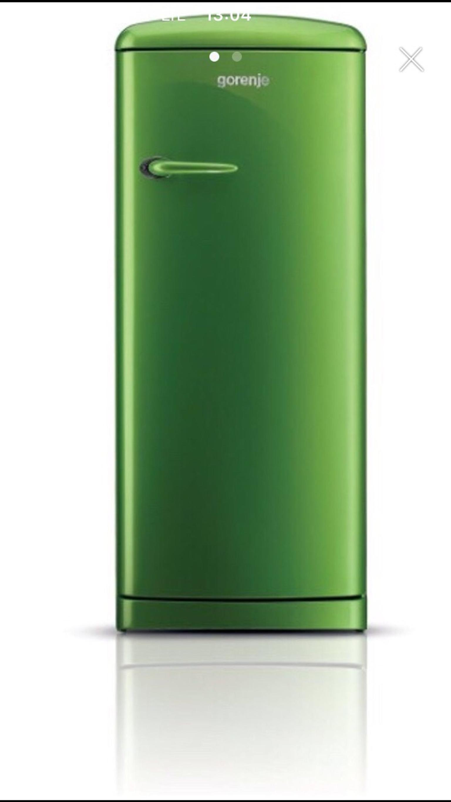Gorenje Kühlschrank Grün : Gebraucht gorenje retro kühlschrank grün freistehend in