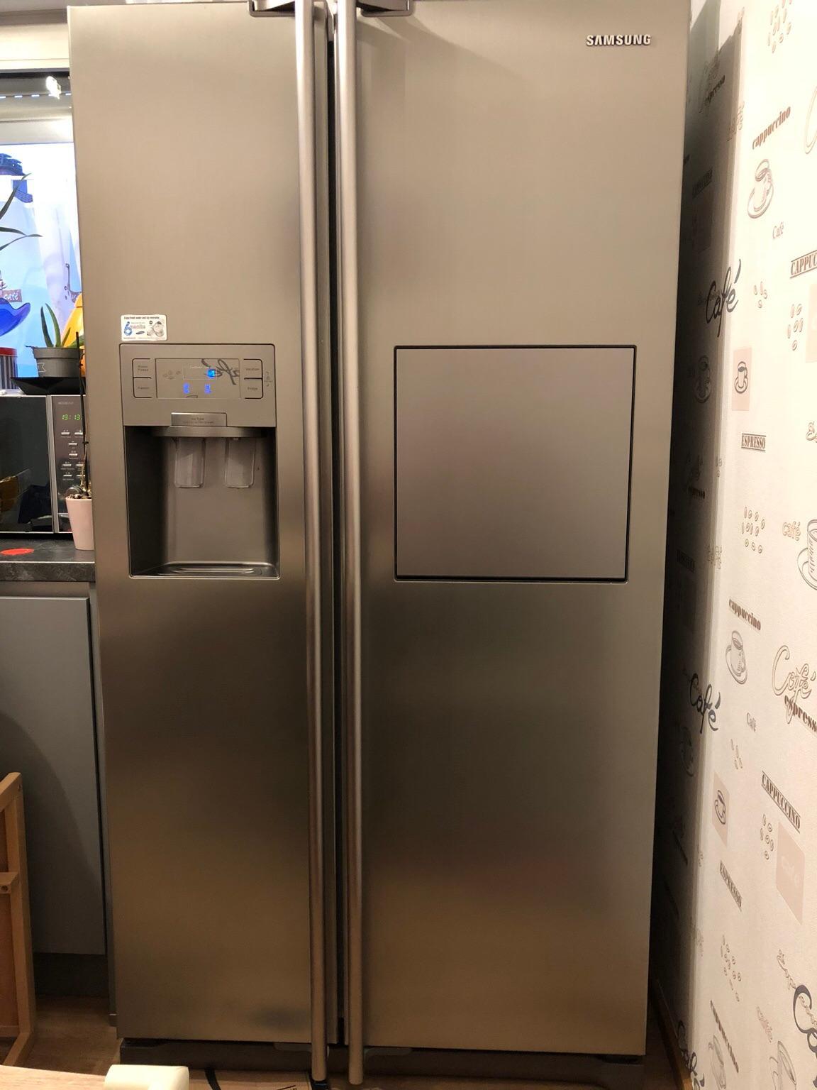 Kühlschrank Side By Side Gebraucht : Gebraucht side by side kühlschrank samsung rsh zepn in