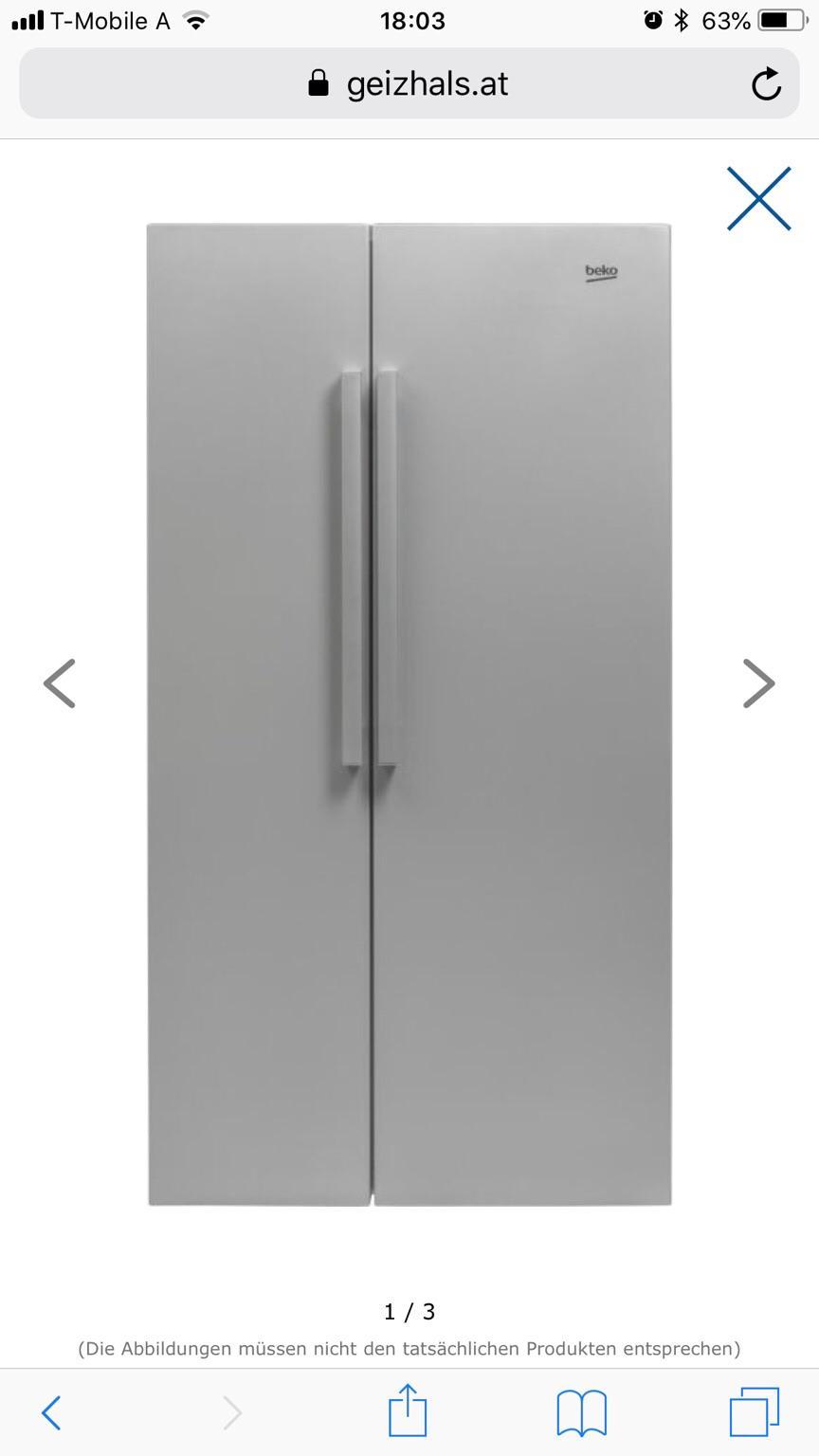 Side By Side Kühlschrank Beko : Gebraucht beko side by side kühlschrank in thalheim bei