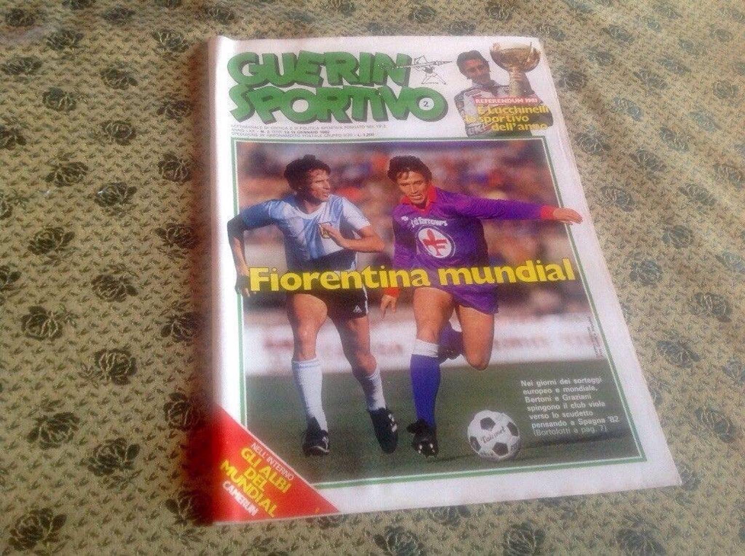 Lotto Guerin Sportivo a 3 € l'uno
